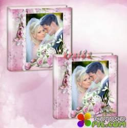 Свадебный альбом для фото - Магия нежности