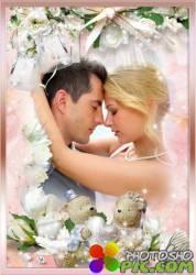 Свадебная фоторамка – Любовь навечно