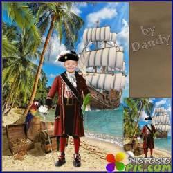 Шаблон для мальчика - Веселый пират