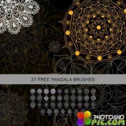Кисти для Фотошоп - Мандала