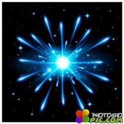 Векторный фон - Взрыв звезды | Starburst Background