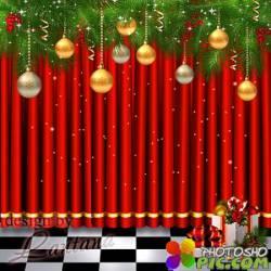 PSD исходник - Новый год нам дарит волшебство 24