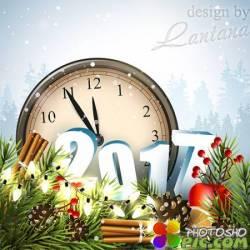 PSD исходник - Новый год нам дарит волшебство 28