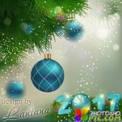 PSD исходник - Новый год нам дарит волшебство 4