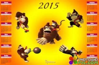Настенный календарь на 2016 год – Год огненной обезьяны