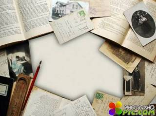 Рамка фотошоп - Старые архивы