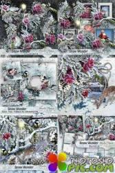 Scrap set - Snow wonder