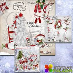 Scrap - White Christmas / Merry Little Christmas