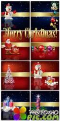 Новогодние фоны-Новогодние композиции.10 часть/Christmas backgrounds-Christmas composition.Part 10